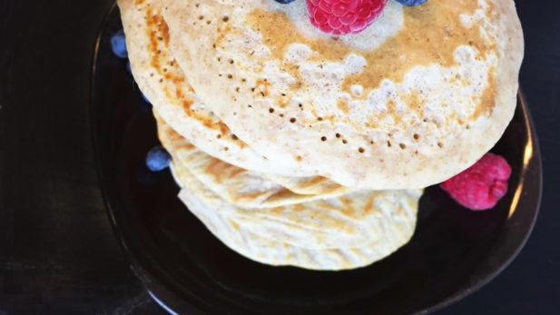 pancake de céréale pour bébé