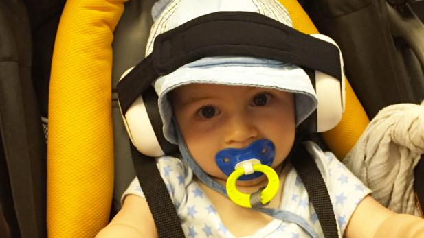 Coquille antibruit pour bébé ; votre indispensable | Sparks and Bloom
