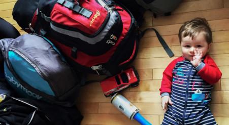 Truc pour voyager avec bébé