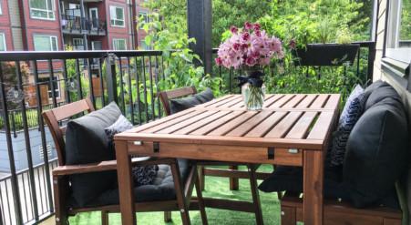 Idée pour aménager et décorer son balcon pinterest style