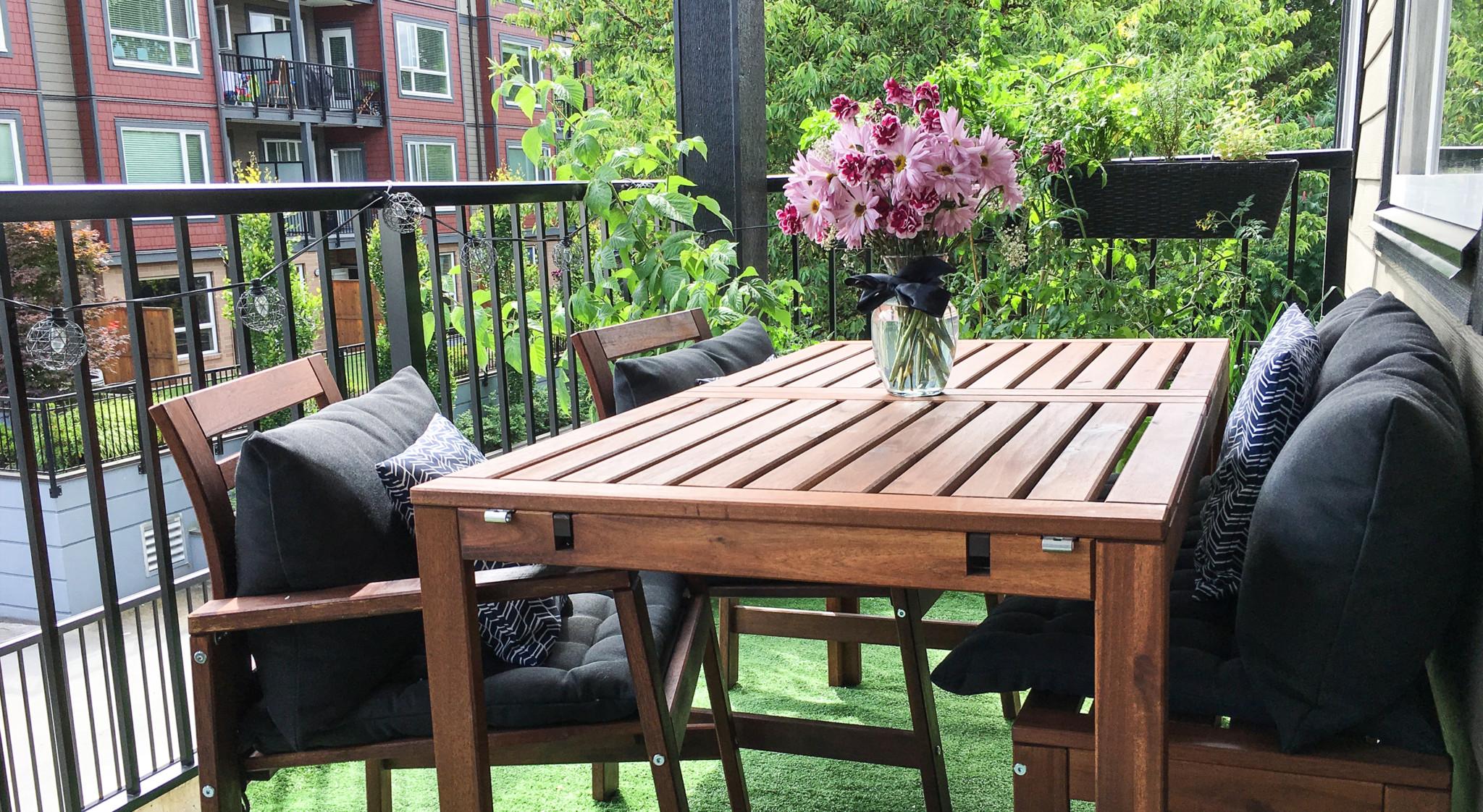 Idees Pour Amenager Et Decorer Ton Balcon Pinterest Style