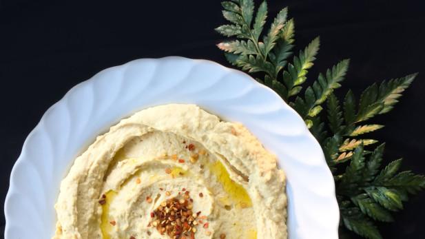 Hummus citronné