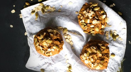Muffins vegan à la citrouille | Sparks and Bloom
