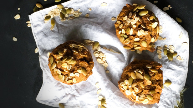 Muffins vegan à la citrouille | Sparks and Bloom