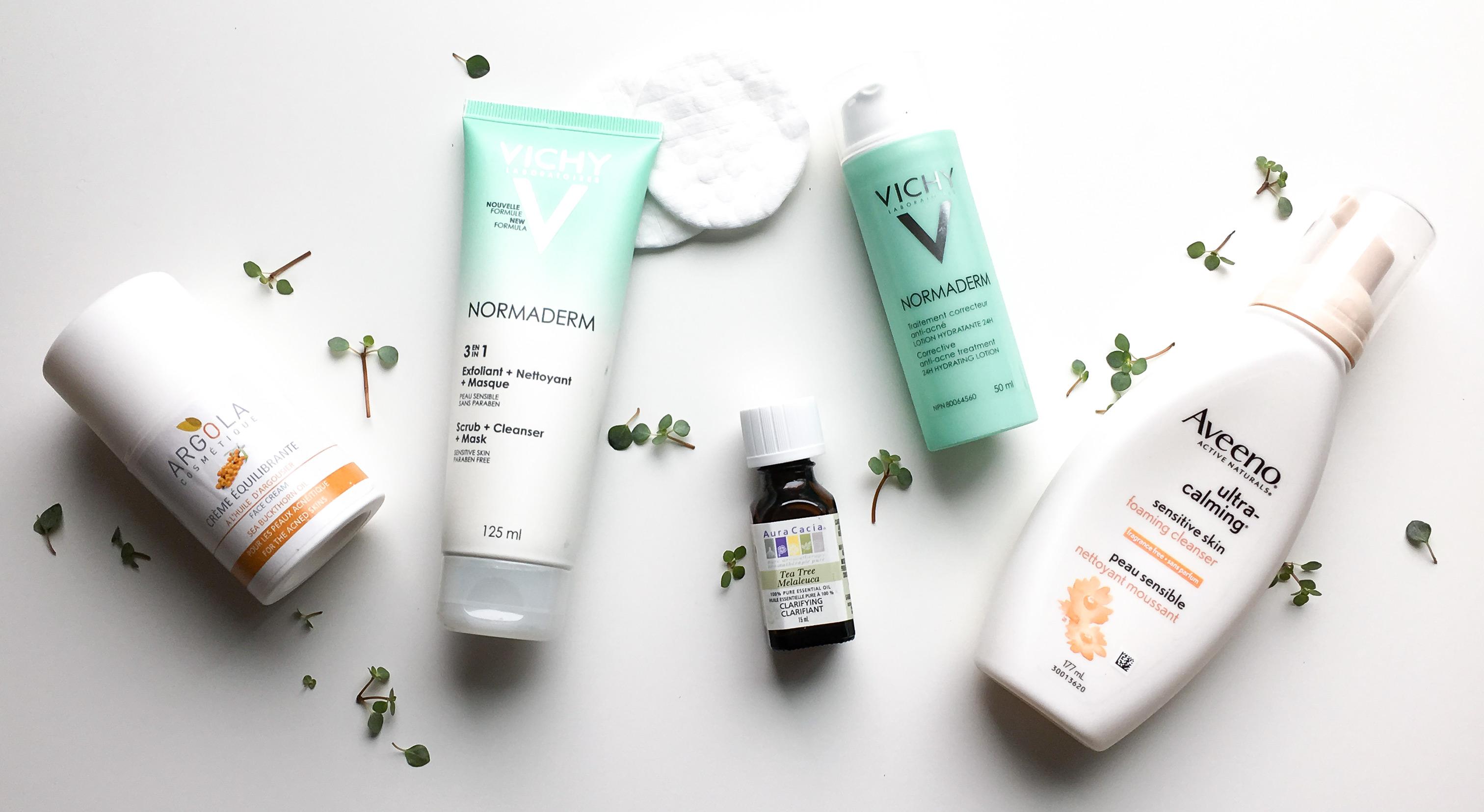 Ma routine et mes produits chouchous contre mon acné | Sparks and Bloom