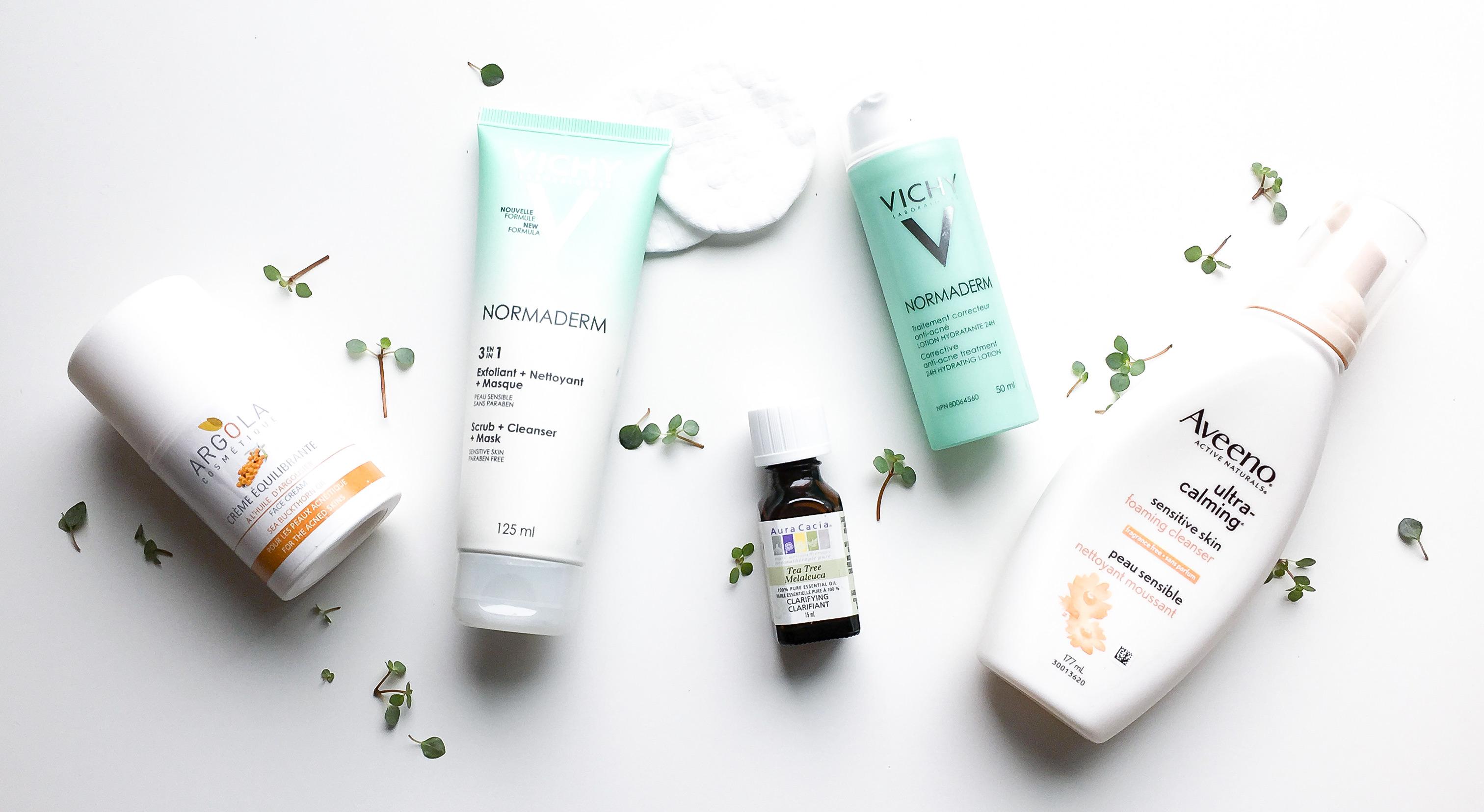 Ma routine et mes produits chouchous contre mon acné