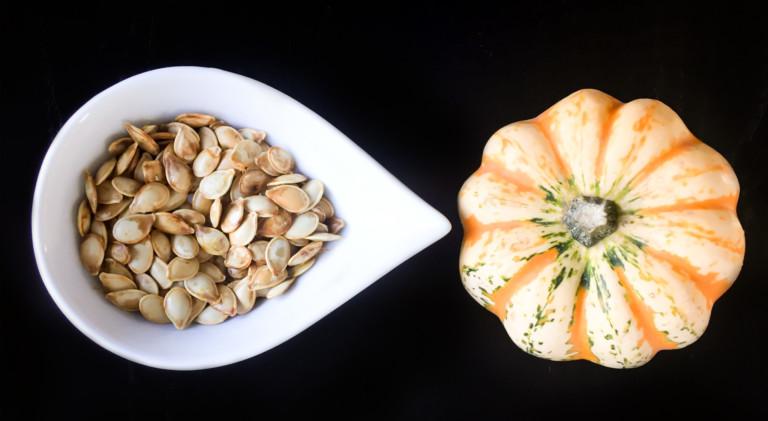 Graines de citrouille grill es la fleur de sel sparks - Faire griller des graines de citrouille ...