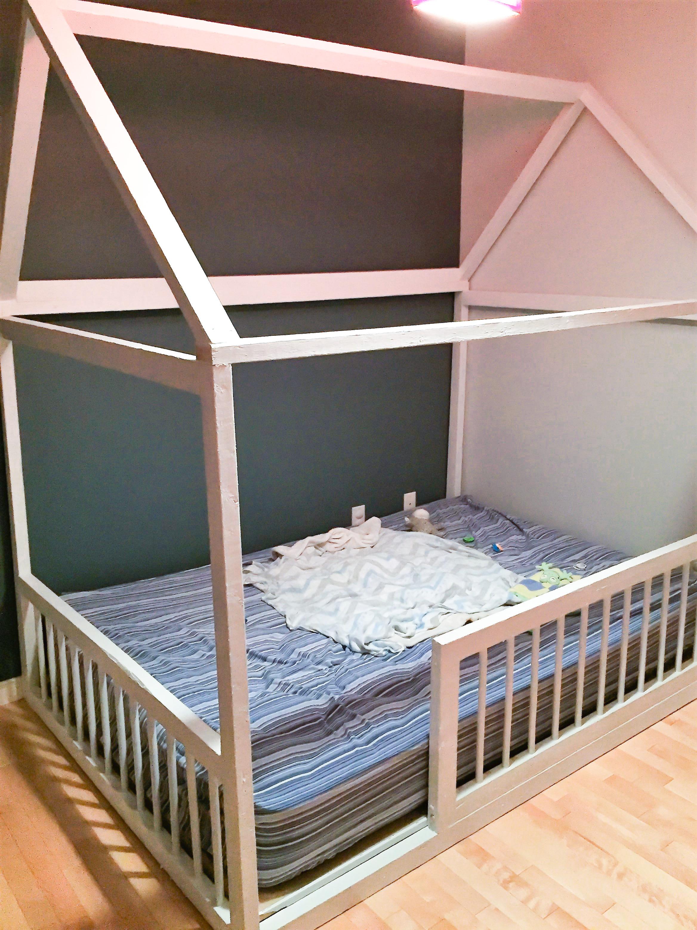 Fabriquer Lit Cabane Montessori comment faire soi-même son lit montessori pour bébé | sparks