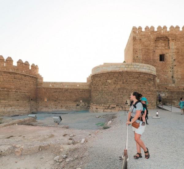 25--vendredi---octobre--(VOYAGE)-4-semaines-sous-le-soleil-de-l'Espagne--notre-itinéraire-de-voyage-en-tour-du-monde-en-famille-1-Almeria---chateau-alcazaba-1